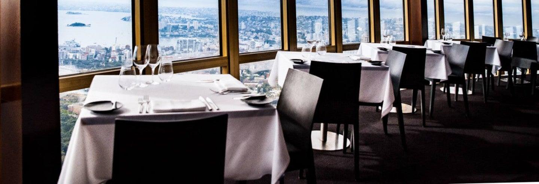Pranzo al ristorante girevole della Torre di Sydney