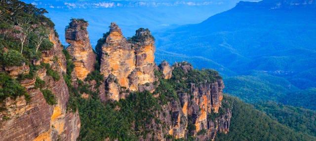 Excursión a las Montañas Azules