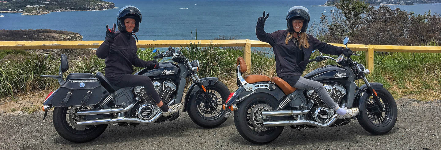 Tour in moto a Sidney