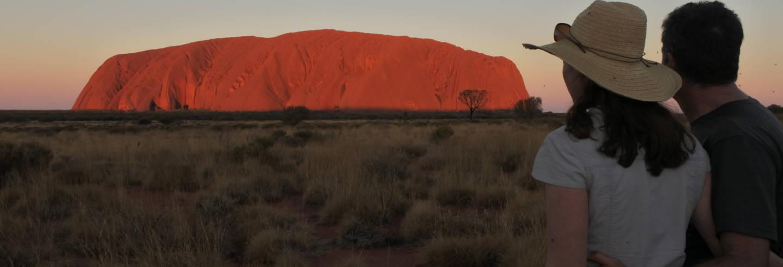 Excursión al Parque Nacional Uluru-Kata Tjuta al atardecer