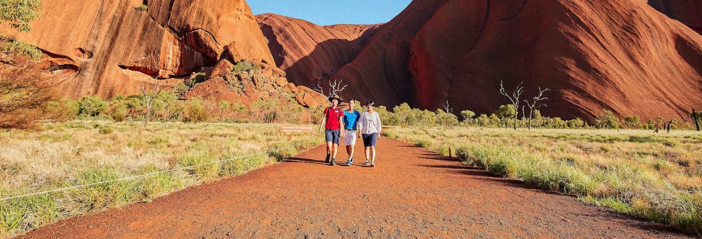 Randonnée à Uluru