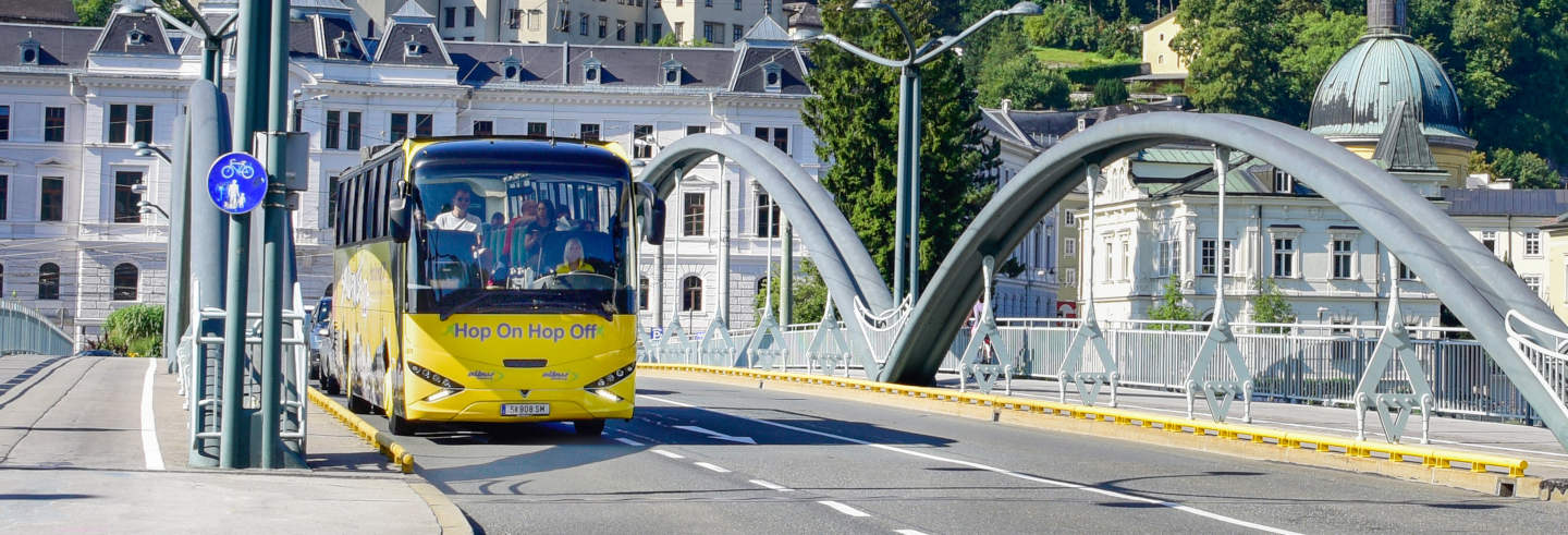 Autobus turistico di Salisburgo