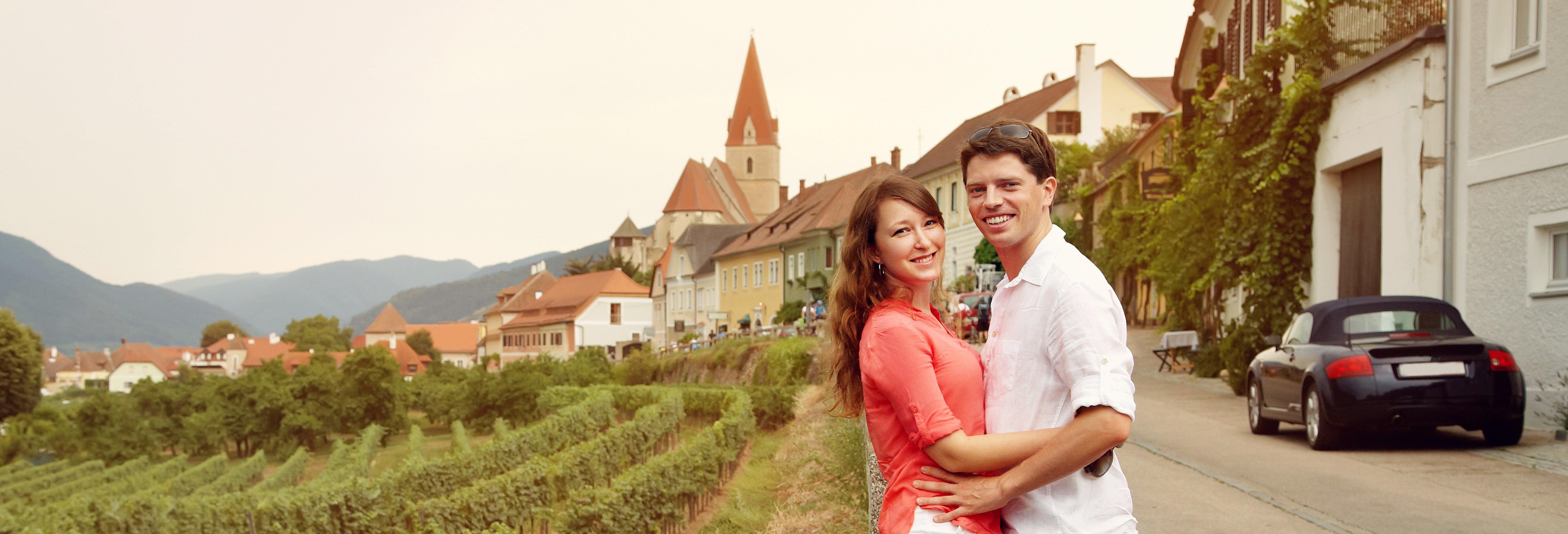 Excursão pelos vales do Danúbio e Wachau