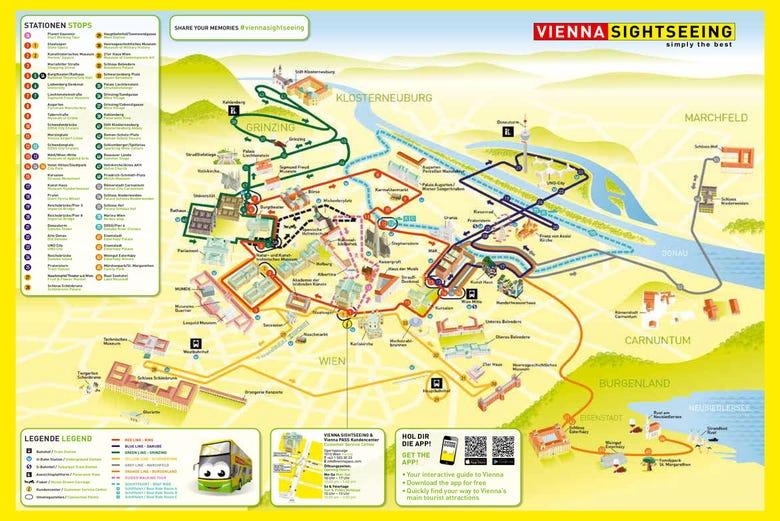 Autobús turístico de Viena City sightseeing - Disfruta Viena