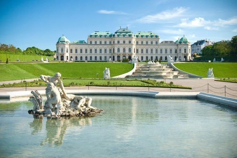Viena, Palacio Belvedere