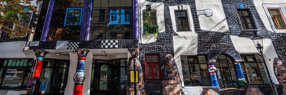 Museu Hundertwasser Viena (Kunst Haus Wien)