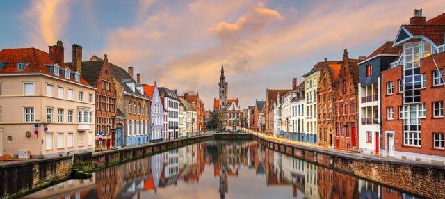 Autobús turístico de Brujas