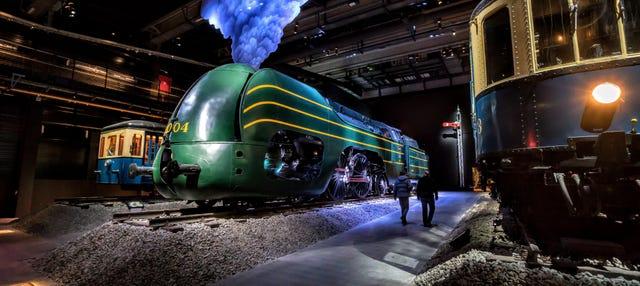 Entrée pour le musée Train World de Bruxelles