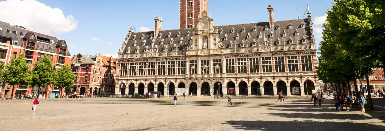 Excursão a Leuven de trem