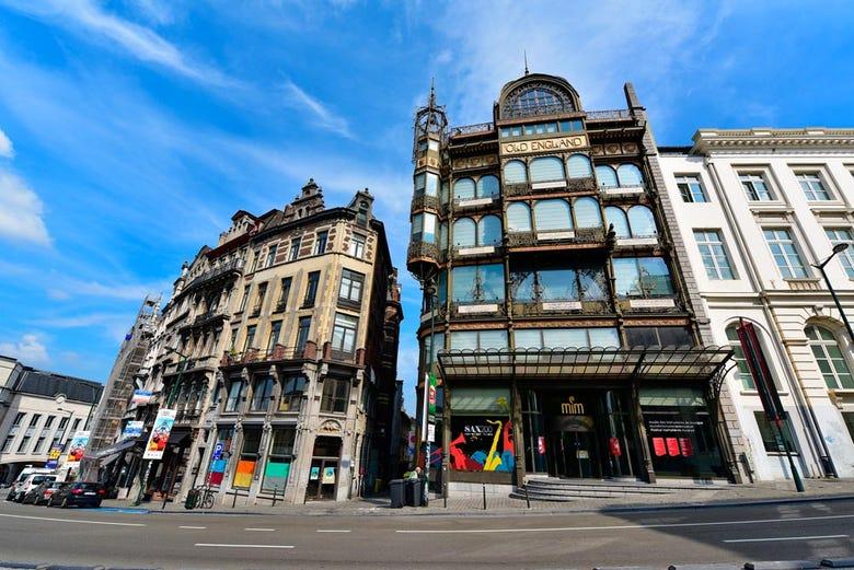 ,Tour por Bruselas,Tour del Art Nouveau