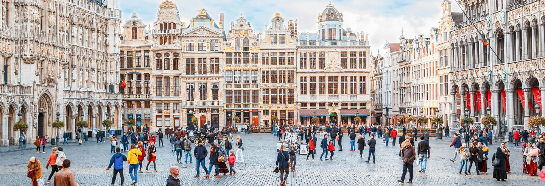Tour panorámico por Bruselas y el Atomium