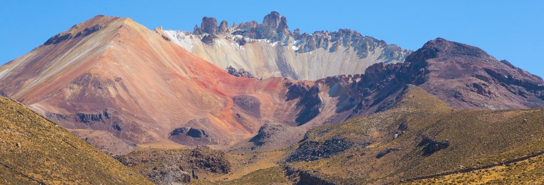 Tour de 2 días al salar de Uyuni + Volcán Tunupa