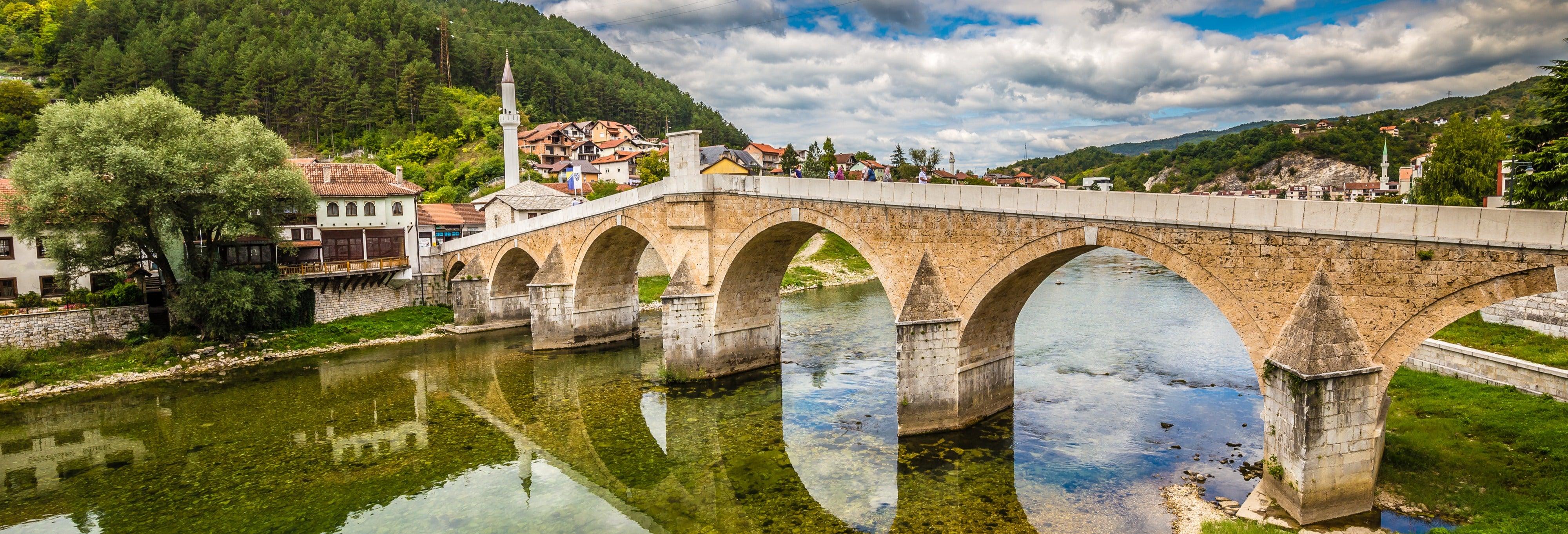 Excursão a Konjic, Radimlja e Počitelj