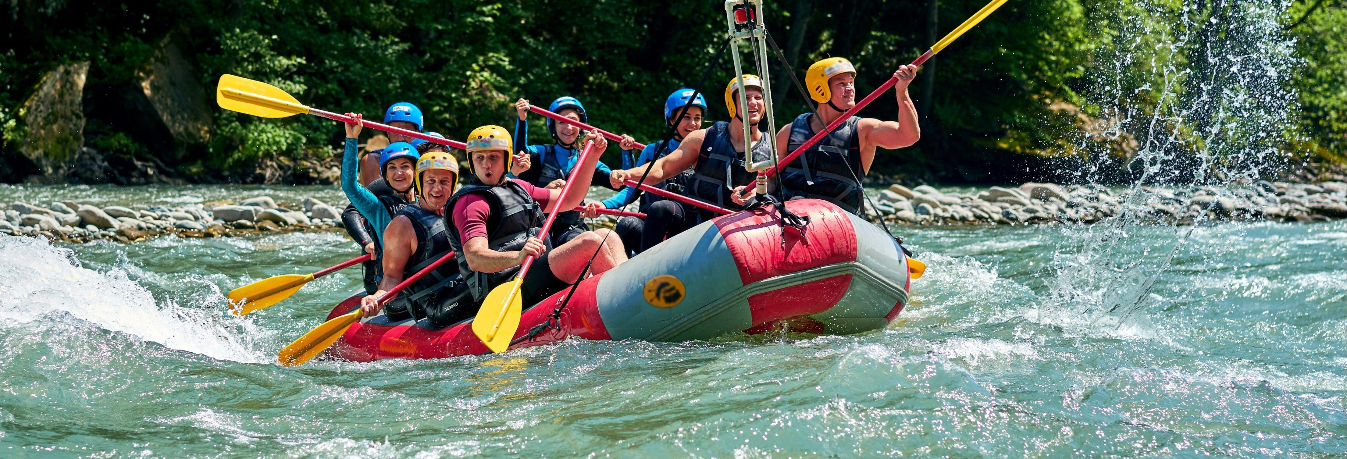 Rafting sul fiume Narenta