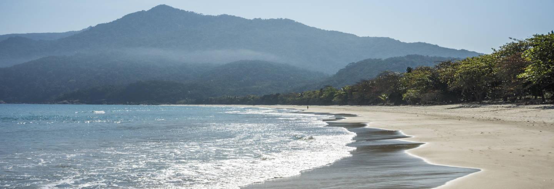 Excursão à praia de Lopes Mendes