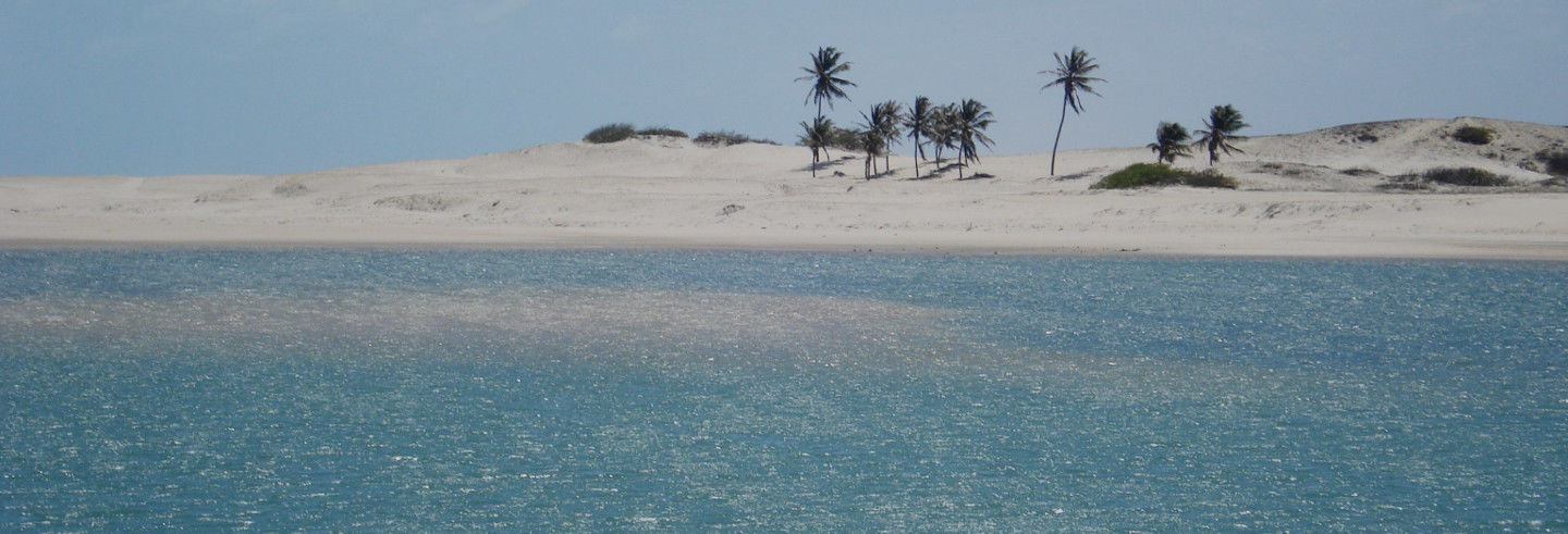Excursion à la plage d'Águas Belas