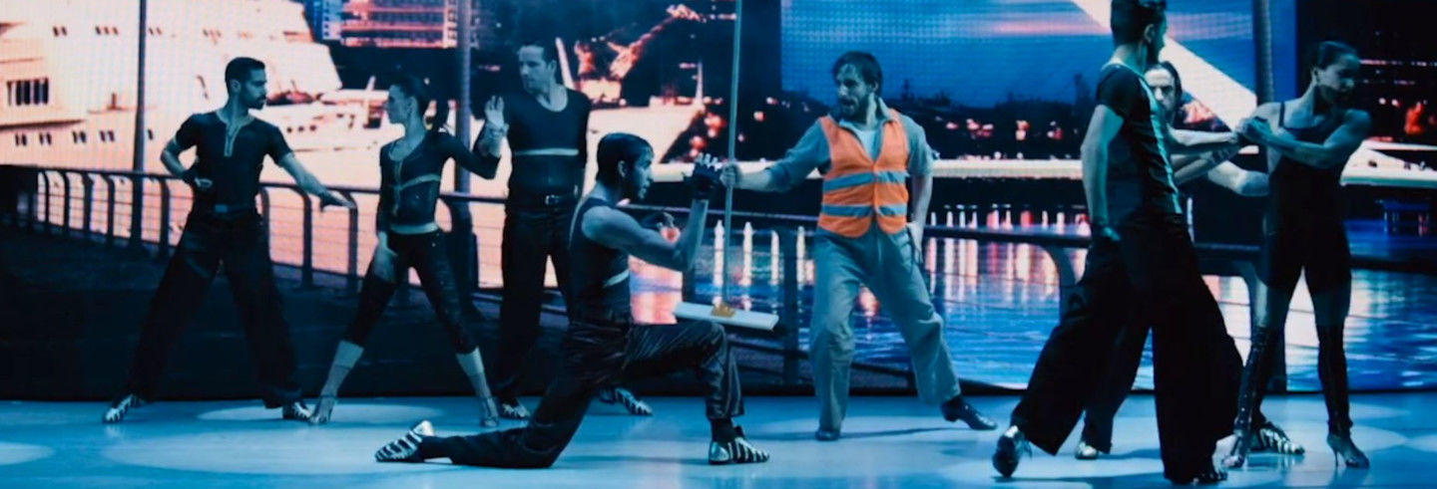 Espetáculo no Madero Tango
