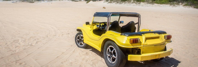 Giro della costa nord di Natal in dune buggy