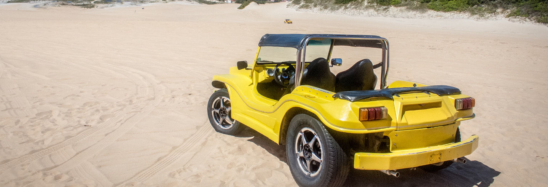 Passeio de buggy pela costa norte de Natal