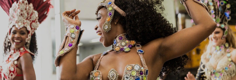 Espectáculo de samba