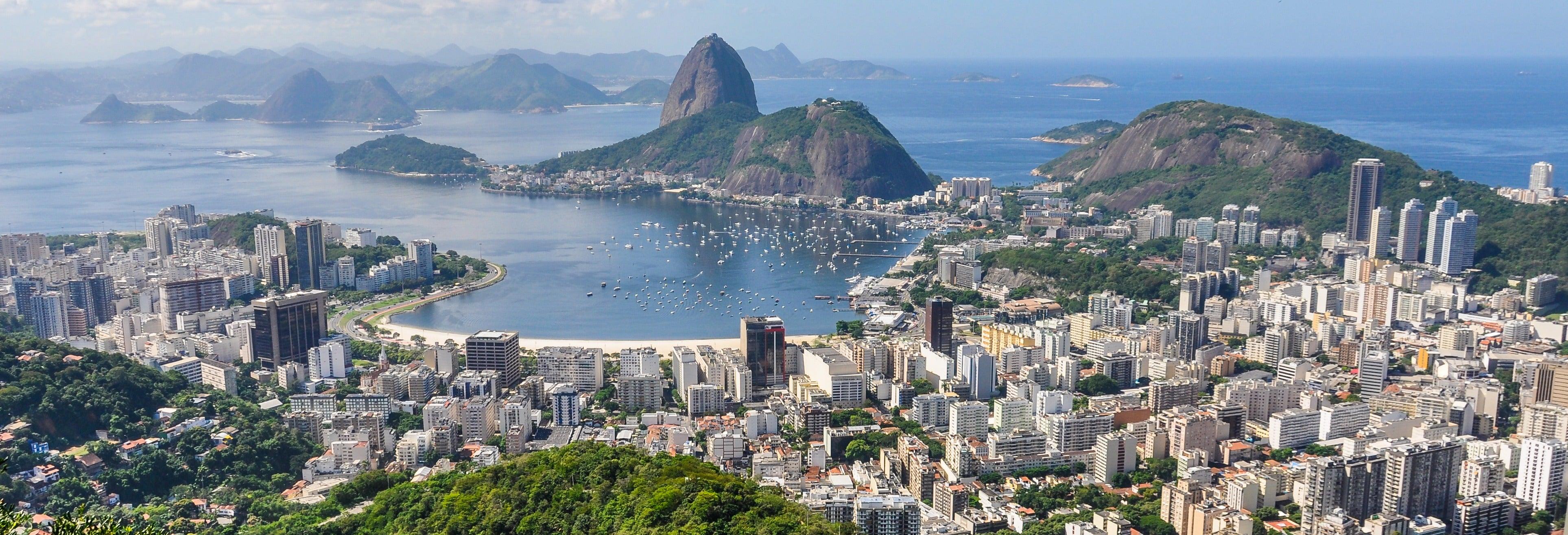 Paseo en helicóptero por Río de Janeiro