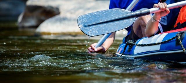 Rafting en el río Macaé