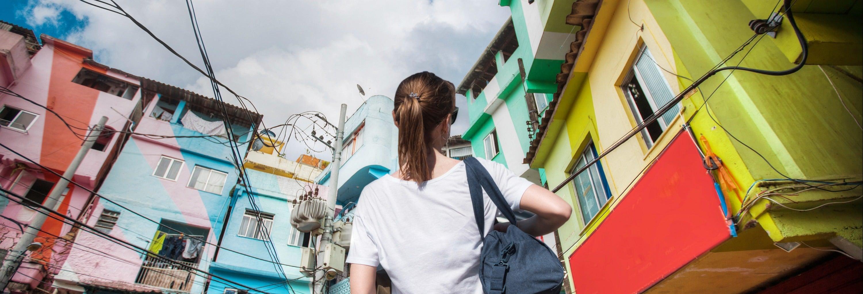 Visite de la favela Santa Marta