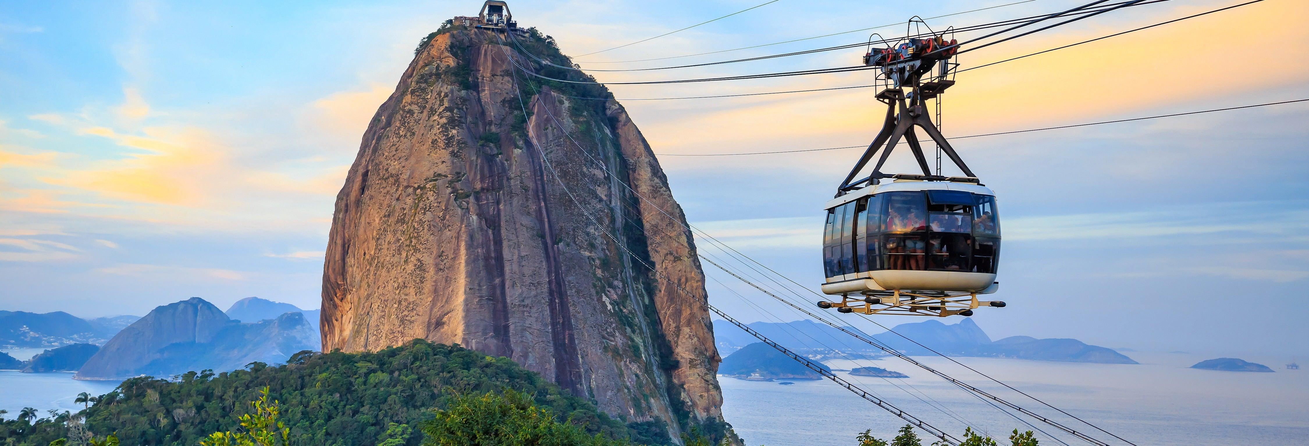Visite du Mont du Pain de Sucre et des plages de Rio