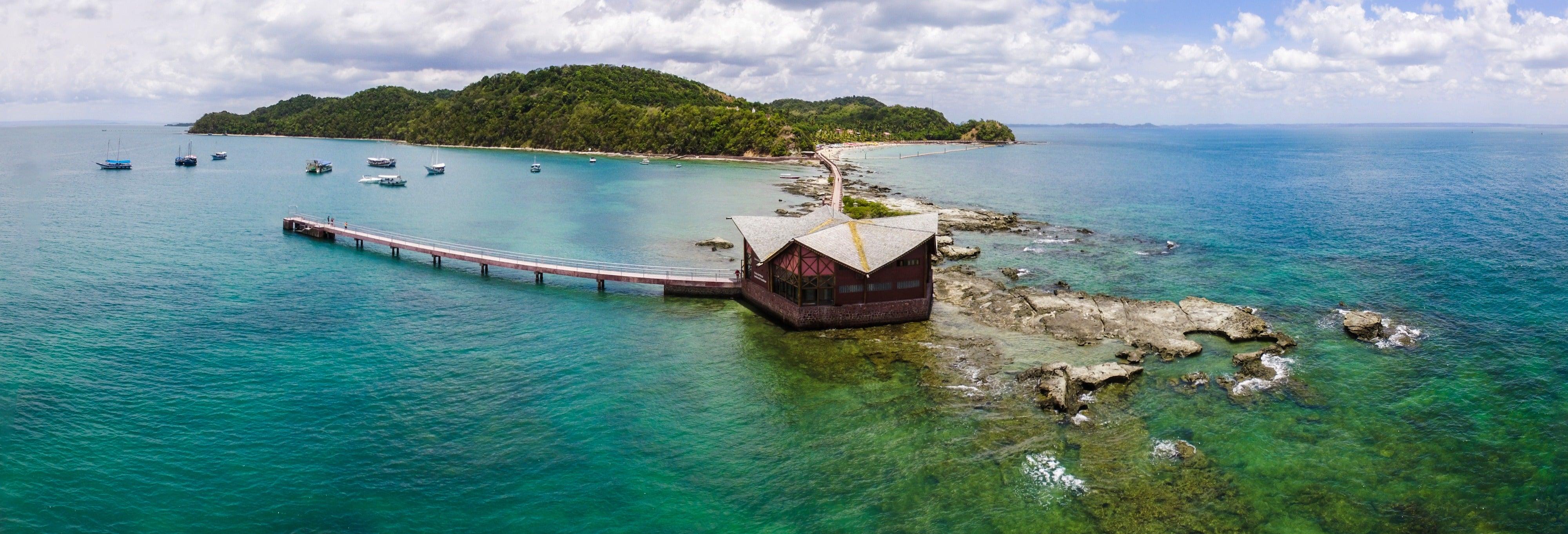 Excursión a las islas de Salvador de Bahía