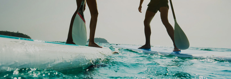 Paddle surf à Porto da Barra