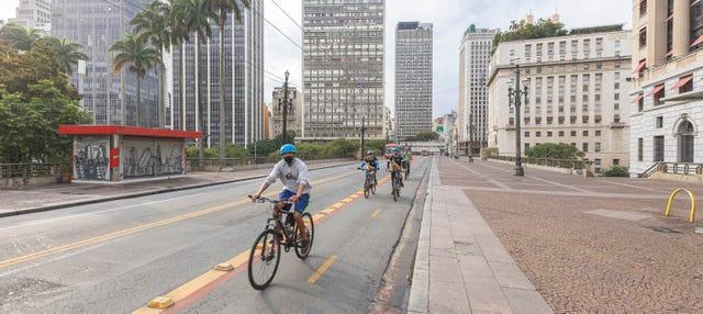 Tour en bicicleta por Sao Paulo