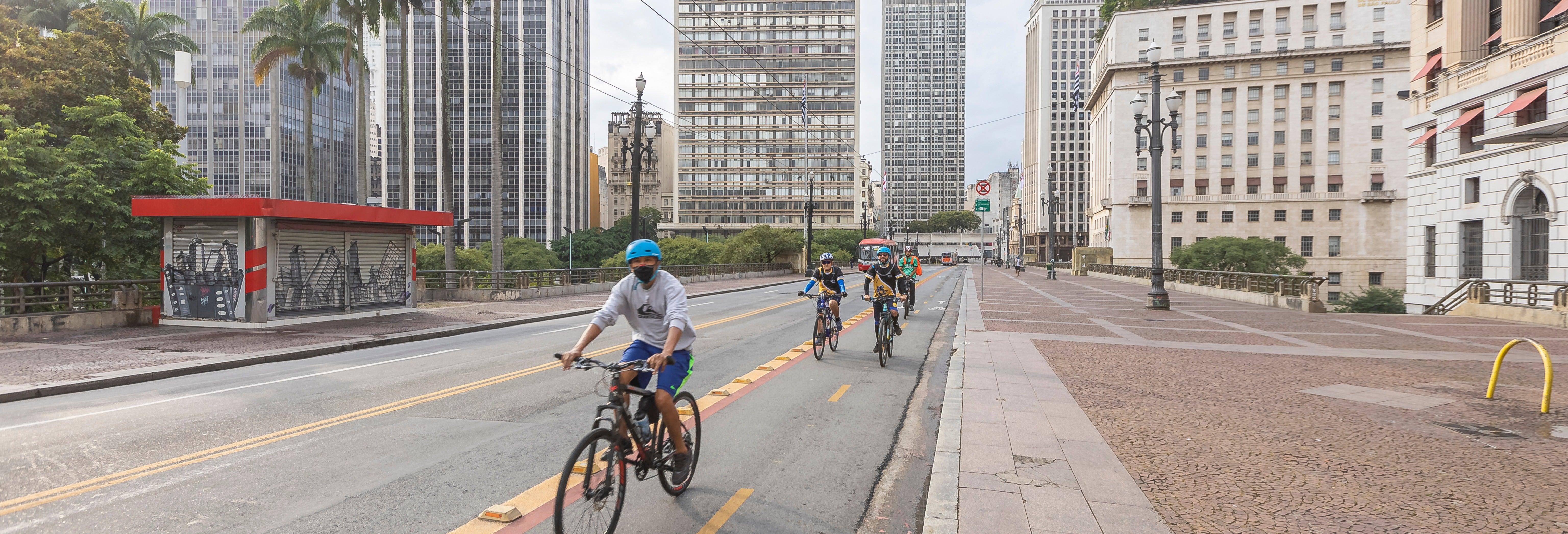 Tour de bicicleta por São Paulo