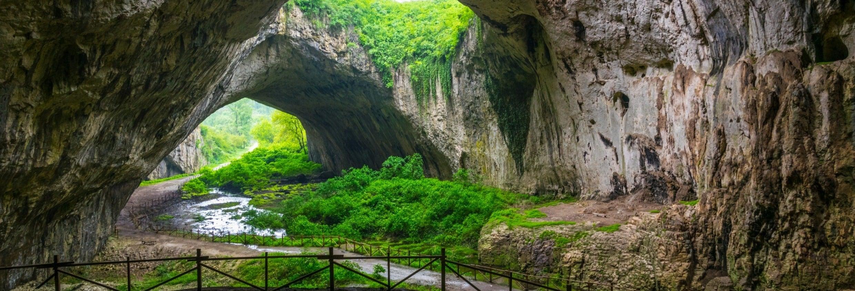 Excursion aux grottes de Bulgarie