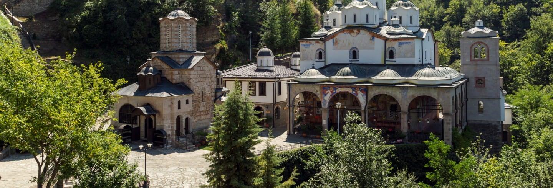 Excursão aos mosteiros da Bulgária e Macedônia do Norte