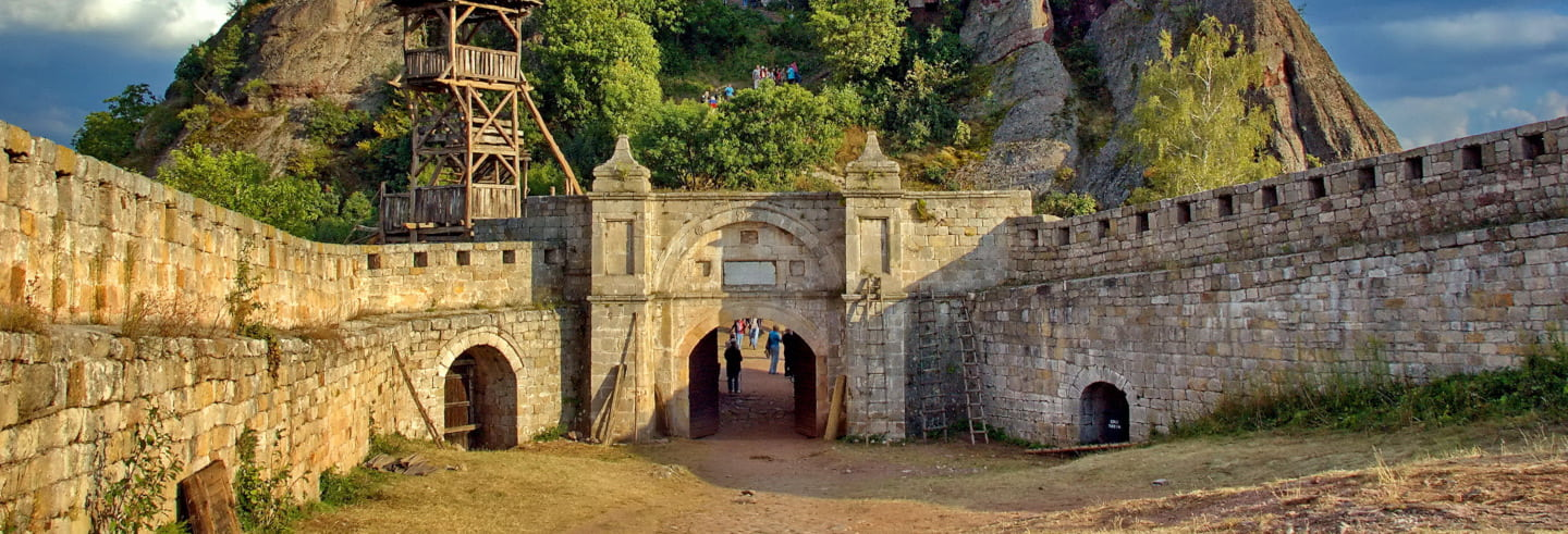 Excursion aux roches de Belogradchik et à sa forteresse