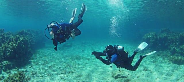 Bautismo de buceo en la isla de Sal