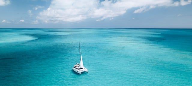 Paseo en catamarán por la isla de Sal