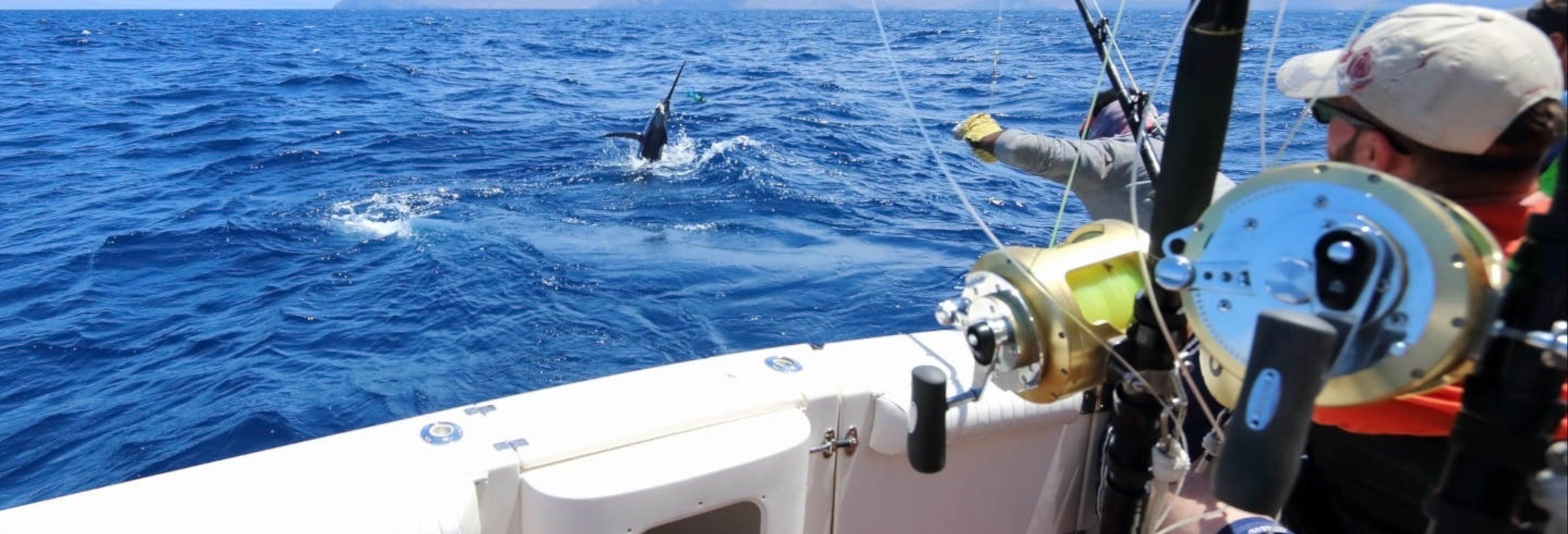 Pesca all'isola di Sal
