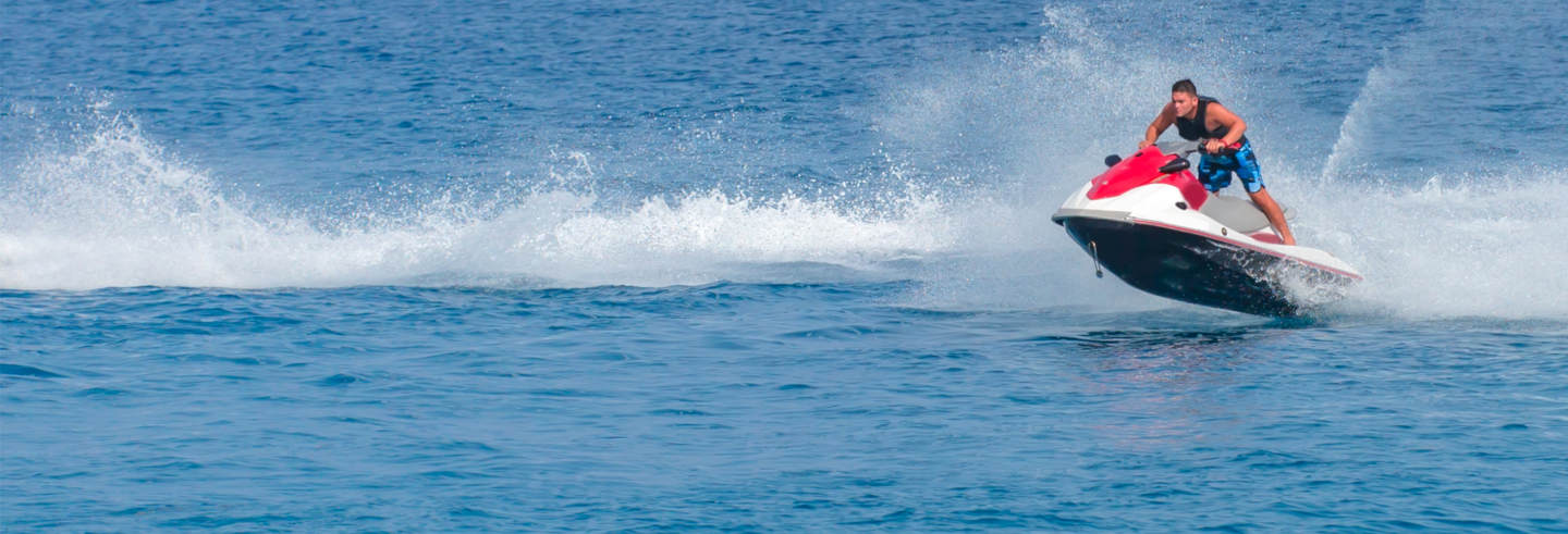 Tour dell'Isola di Sal in moto d'acqua