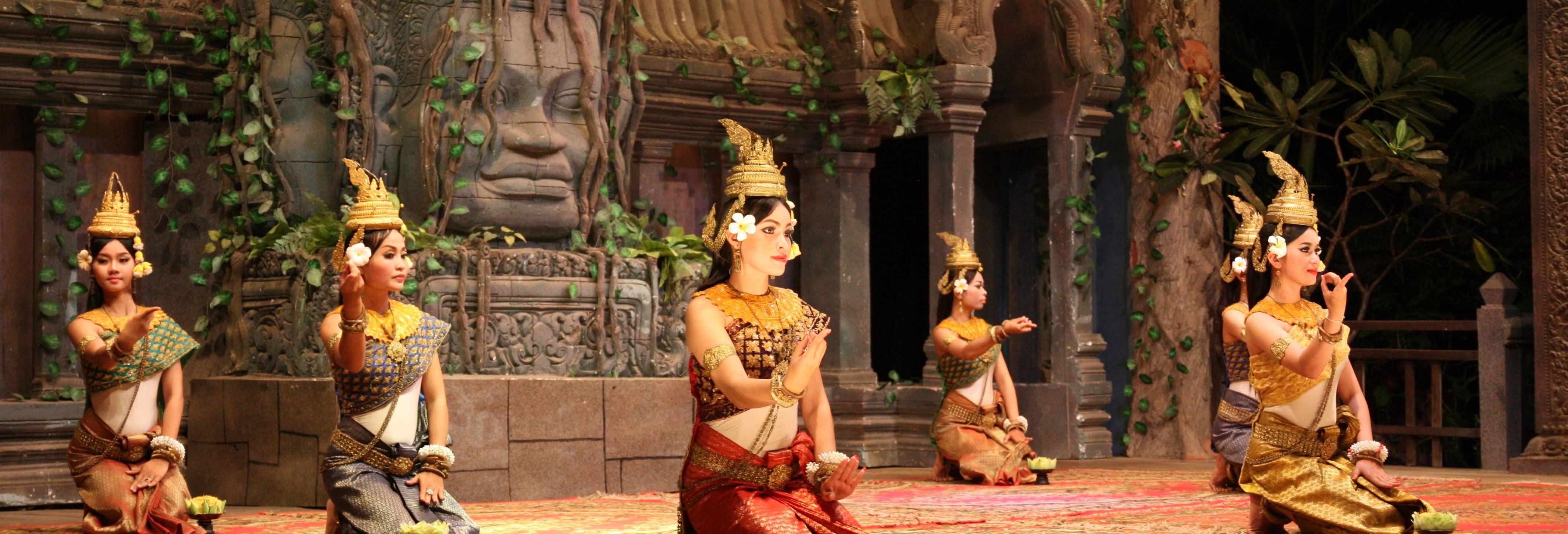 Cena e spettacolo di danza Apsara