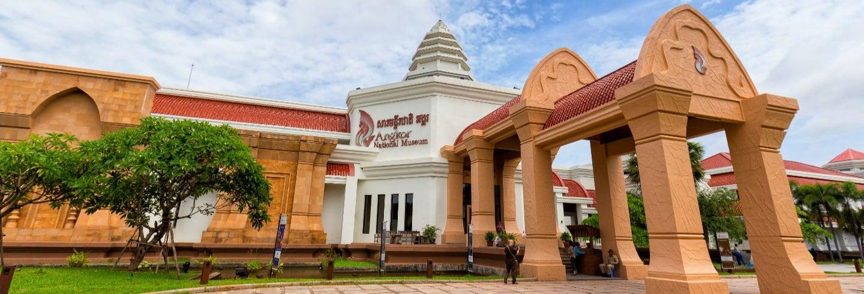 Entrada al Museo Nacional de Angkor