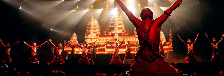 Entrada para el show Smile of Angkor