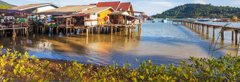Excursión al lago Tonle Sap