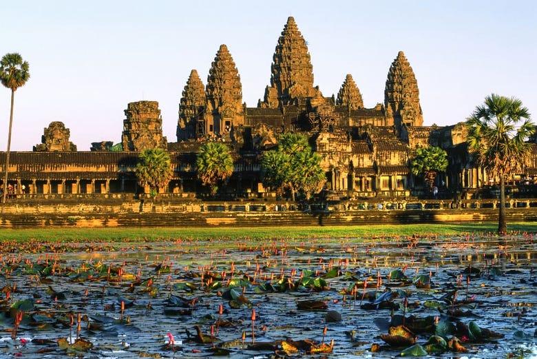 ,Excursión a los Templos de Angkor