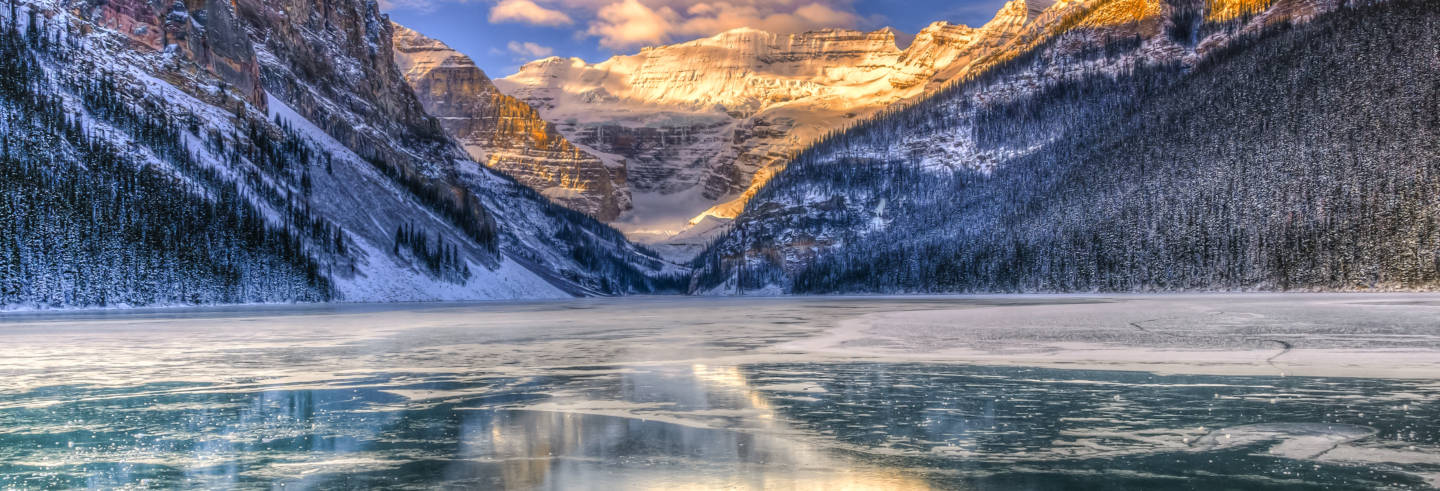 Escursione al Lake Louise e al Marble Canyon