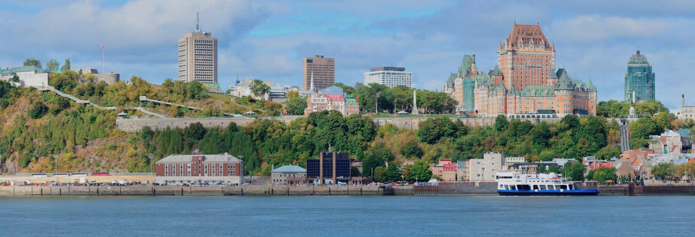 Excursión a Quebec + Paseo en barco