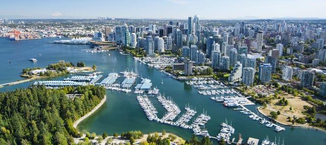 Paseo en hidroavión por Vancouver