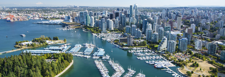 Giro in idrovolante a Vancouver