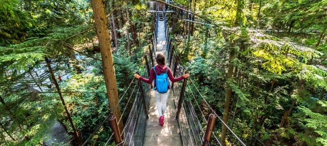 Puente colgante de Capilano y monte Grouse