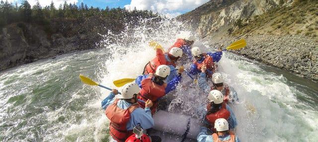 Rafting en el río Elaho